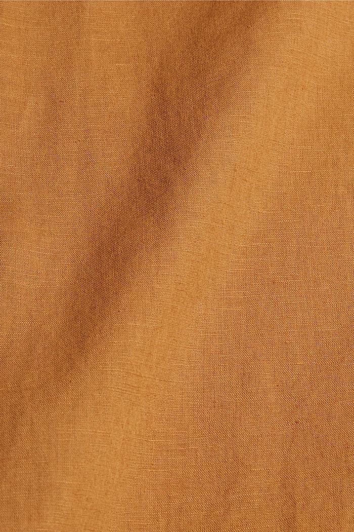Hørblanding: Tunikabluse, CAMEL, detail image number 4