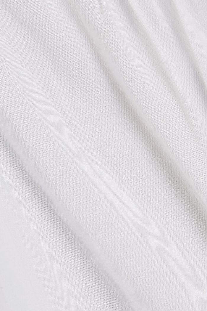 Spaghetti-Top aus LENZING™ ECOVERO™, WHITE, detail image number 4