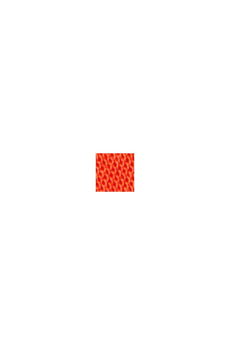 Spaghetti-Top aus LENZING™ ECOVERO™, ORANGE RED, swatch