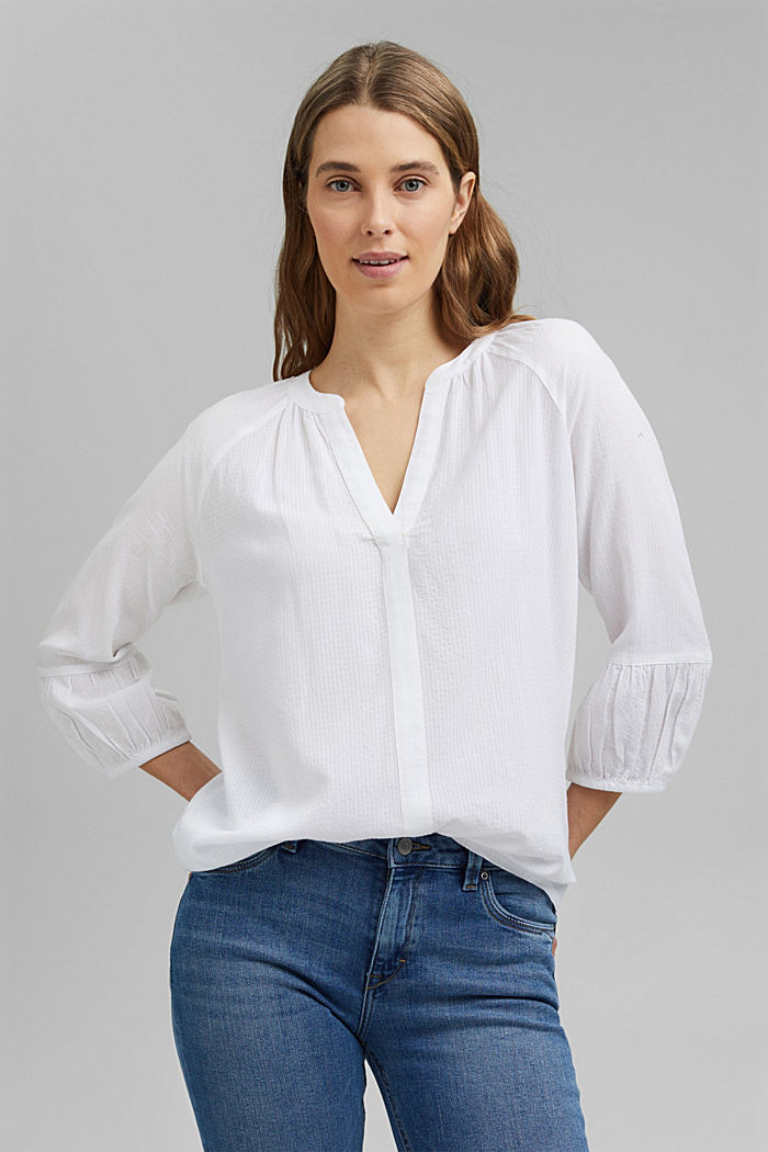 Blouse with LENZING™ ECOVERO™