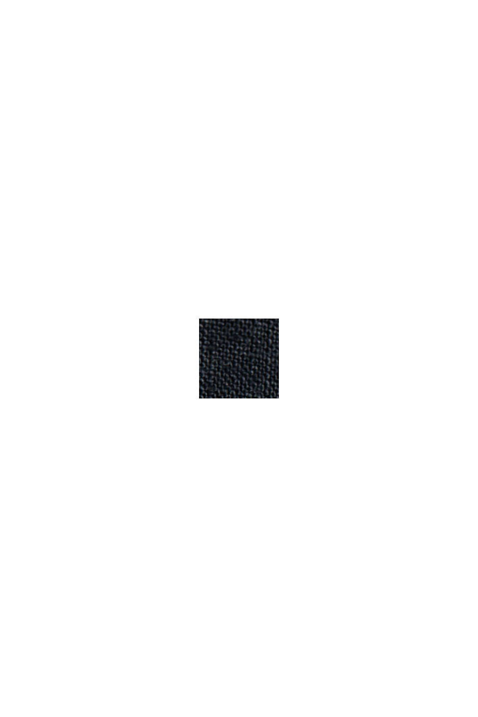 CURVY tuniekblouse van 100% linnen, BLACK, swatch