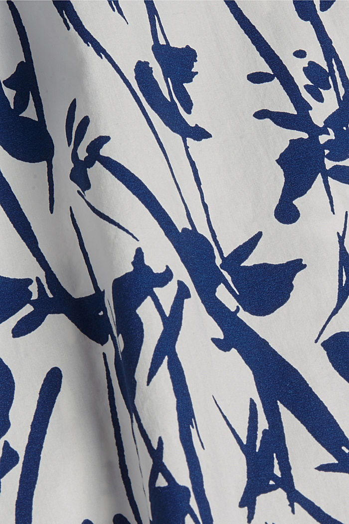Browse top with print, 100% organic cotton, OFF WHITE, detail image number 4