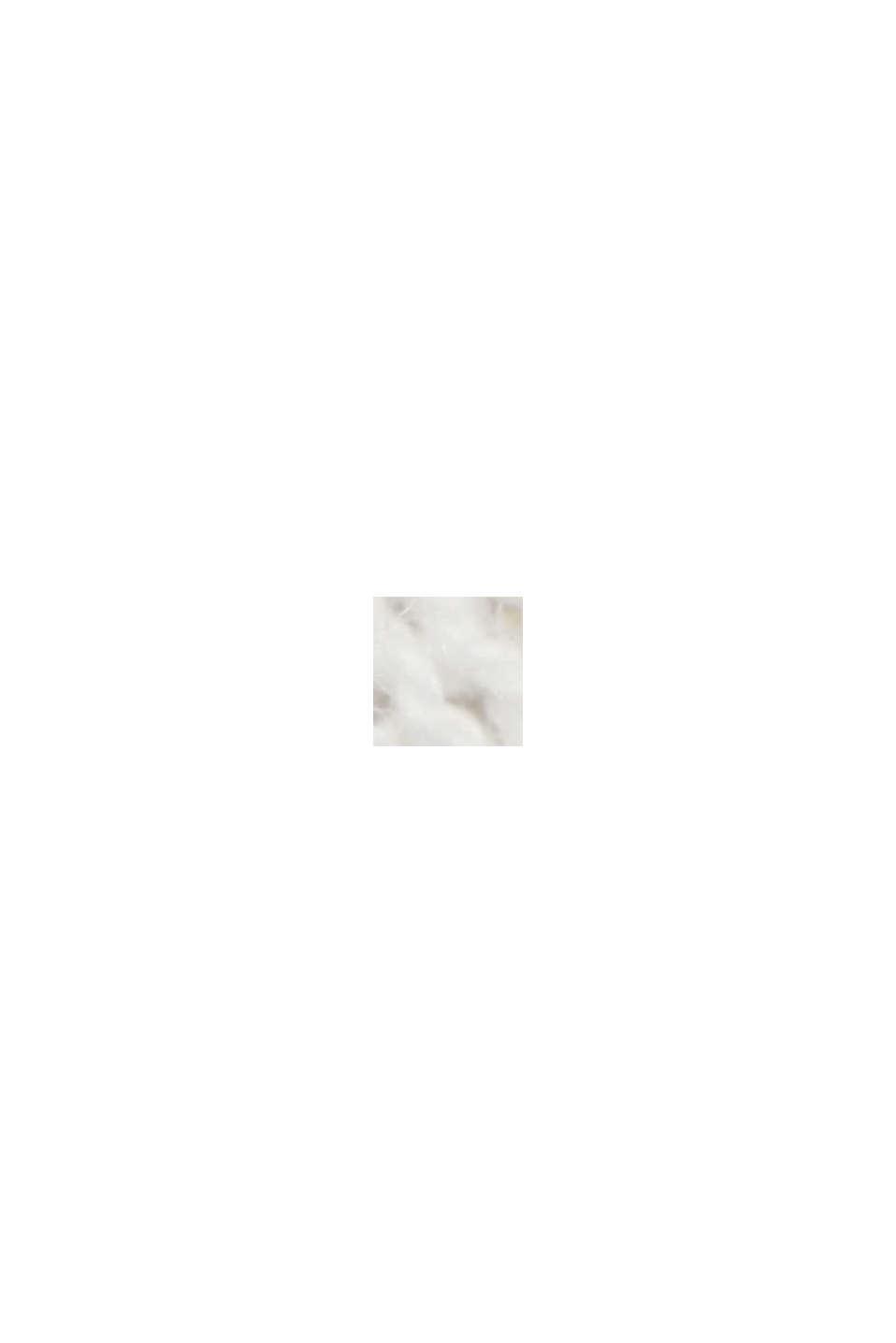 Leinen/Organic Cotton: Strick-Shirt, OFF WHITE, swatch