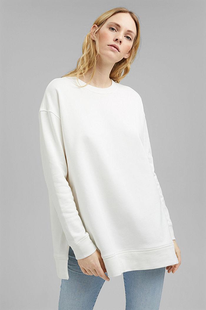 Sweatshirt aus 100% Organic Cotton, ICE, detail image number 0