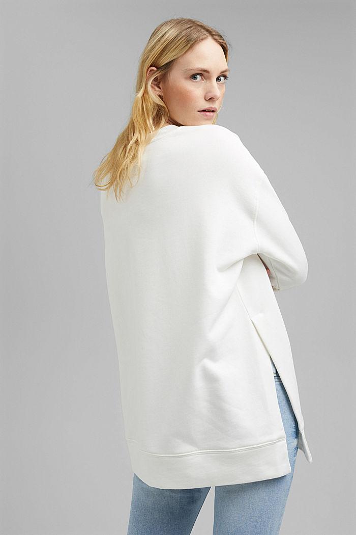 Sweatshirt aus 100% Organic Cotton, ICE, detail image number 3