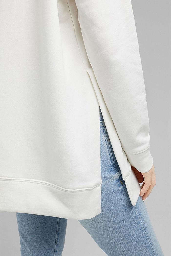 Sweatshirt aus 100% Organic Cotton, ICE, detail image number 2