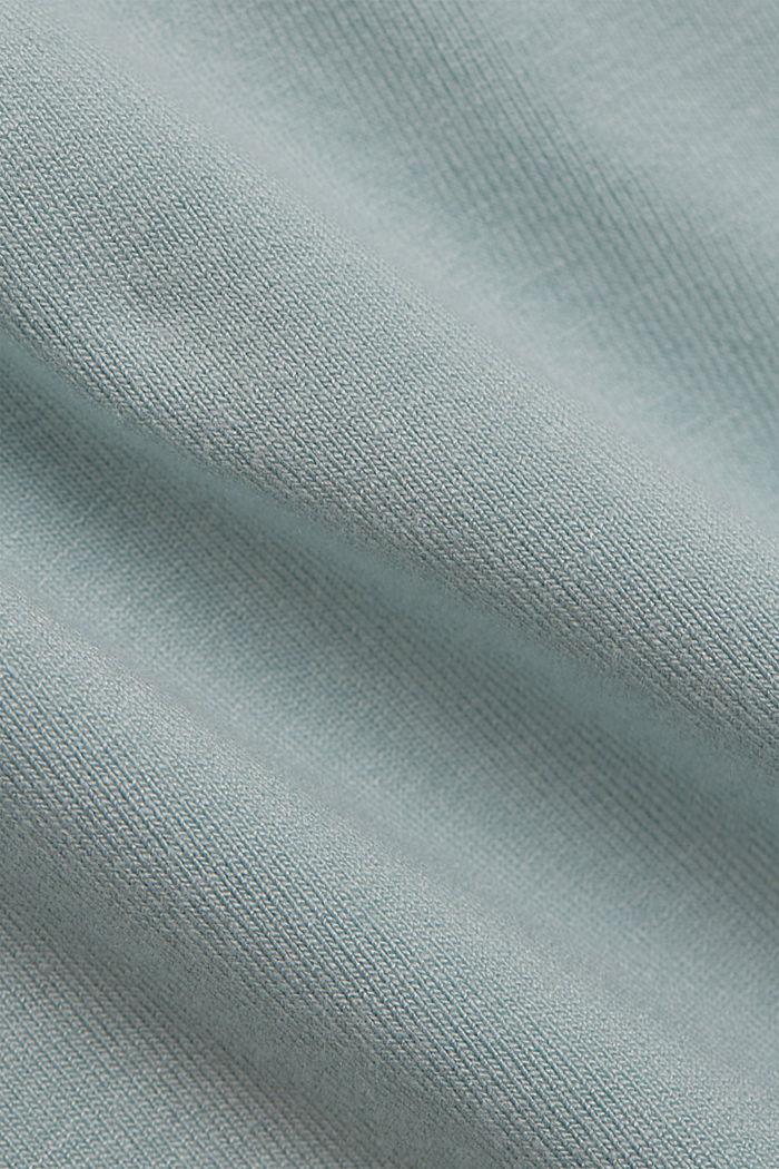 Haut à bretelles en LENZING™ ECOVERO™, LIGHT AQUA GREEN, detail image number 4