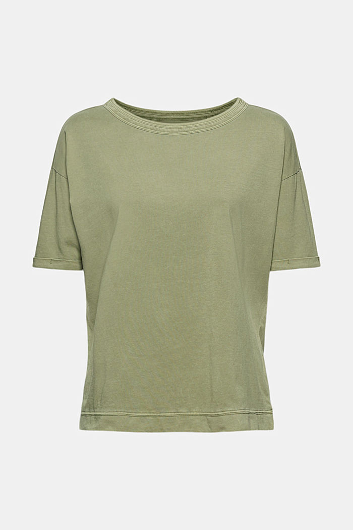 T-Shirt im Washed-Look, Organic Cotton
