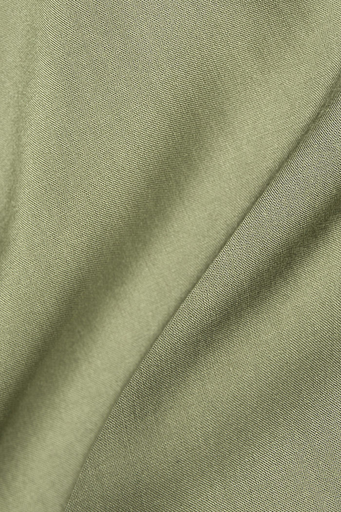 T-Shirt mit Organic Cotton, LIGHT KHAKI, detail image number 4