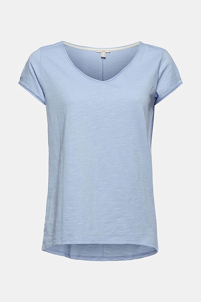 T-Shirt aus 100% Organic Cotton, LIGHT BLUE, detail image number 5