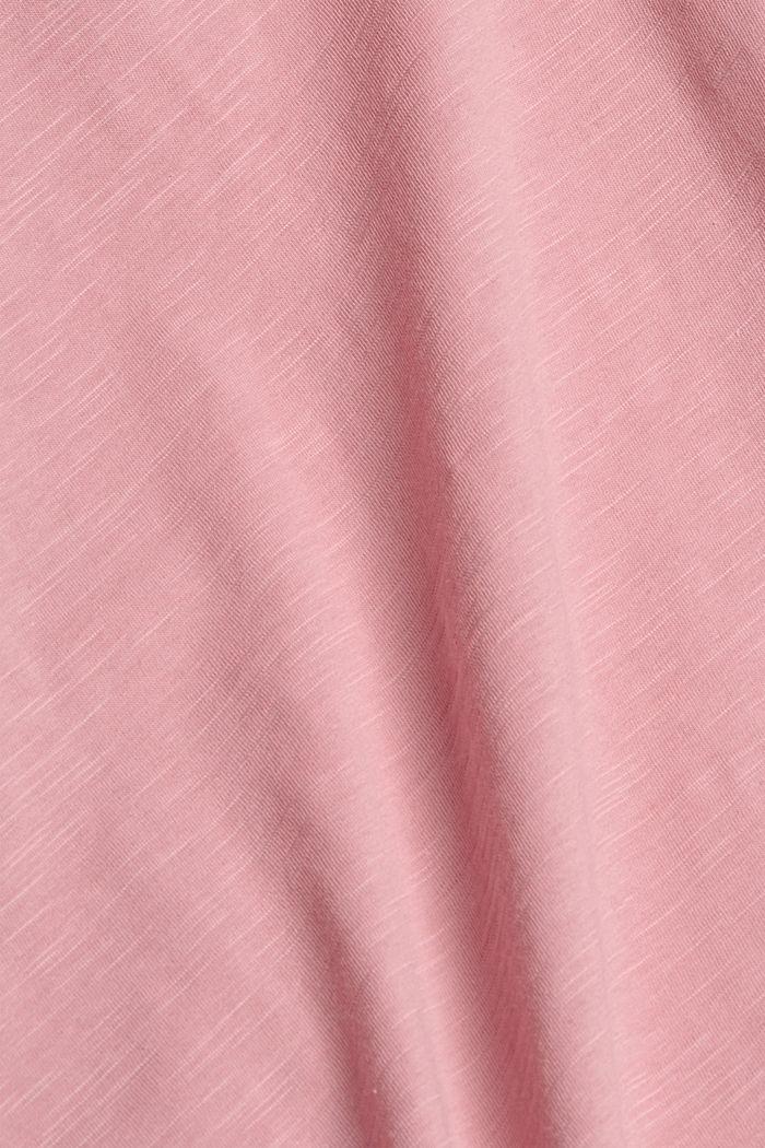 T-shirt 100 % coton biologique, PINK, detail image number 4