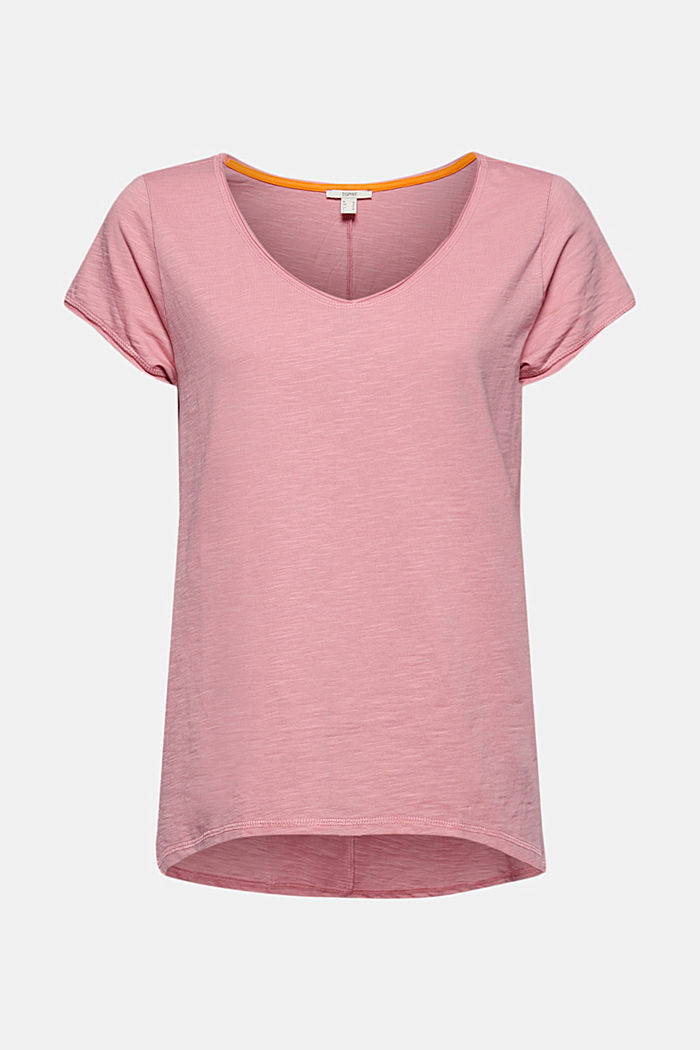 T-shirt 100 % coton biologique, PINK, detail image number 5