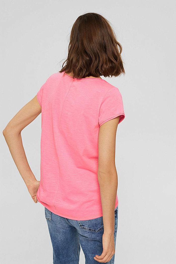 T-Shirt aus 100% Organic Cotton, NEW PINK, detail image number 3