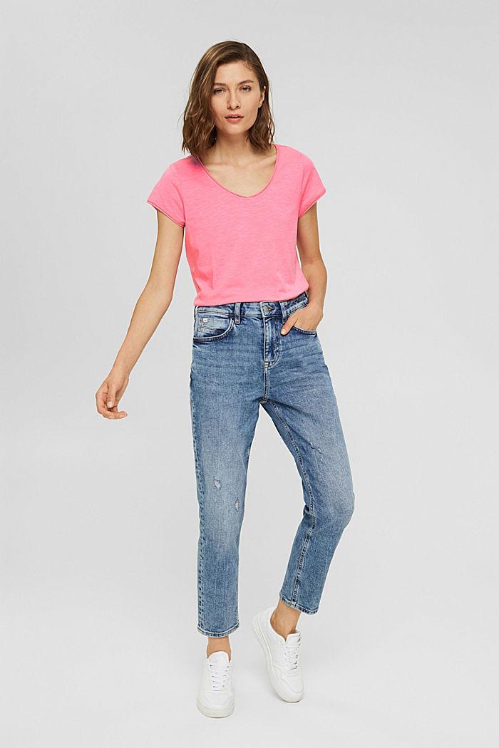 T-Shirt aus 100% Organic Cotton, NEW PINK, detail image number 1