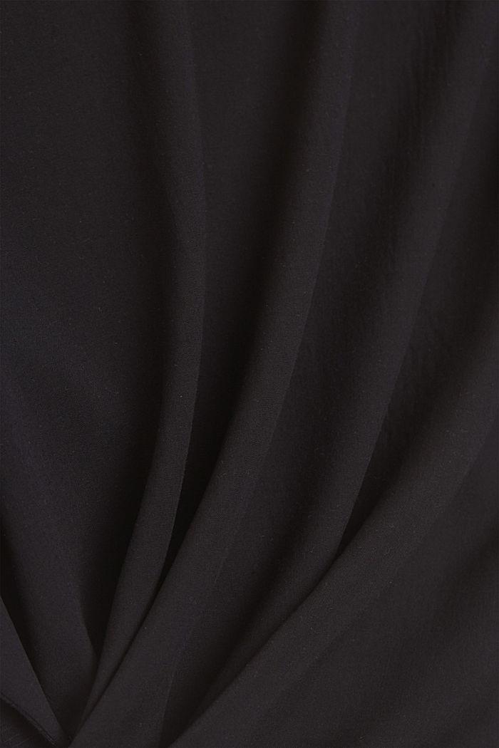 T-shirt z bawełną organiczną/TENCELEM™, BLACK, detail image number 4