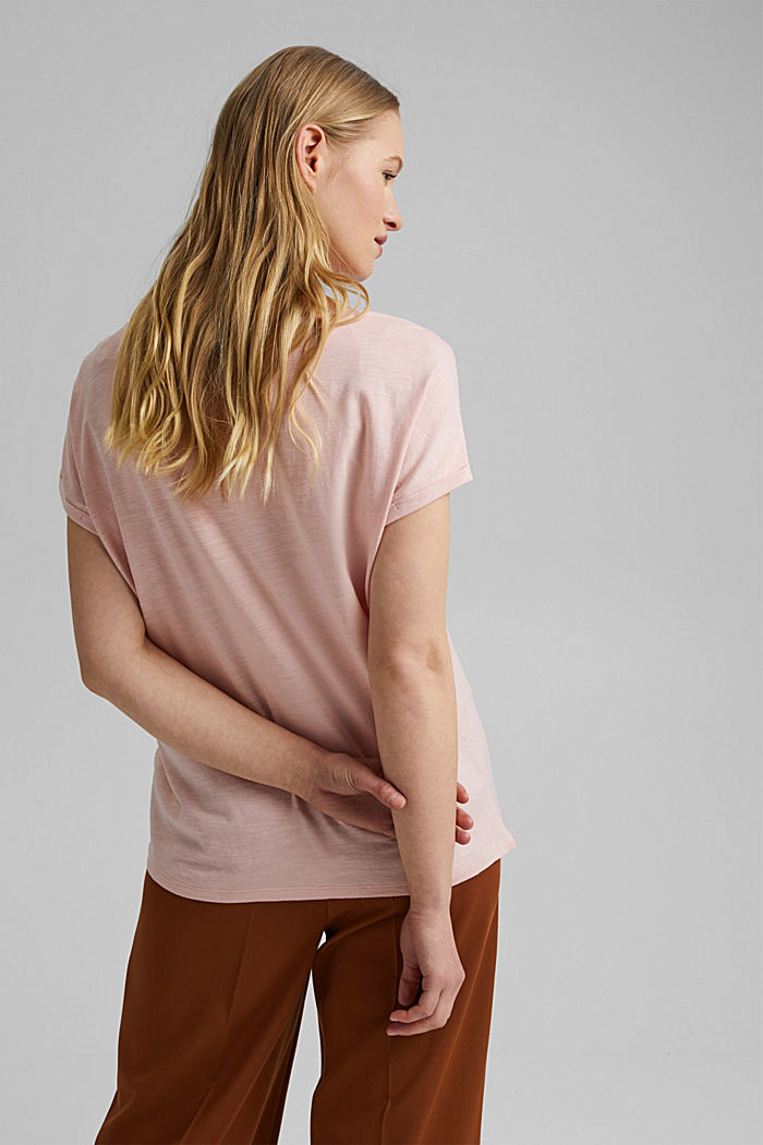 T-shirt containing organic cotton/TENCEL™, NUDE, detail image number 3
