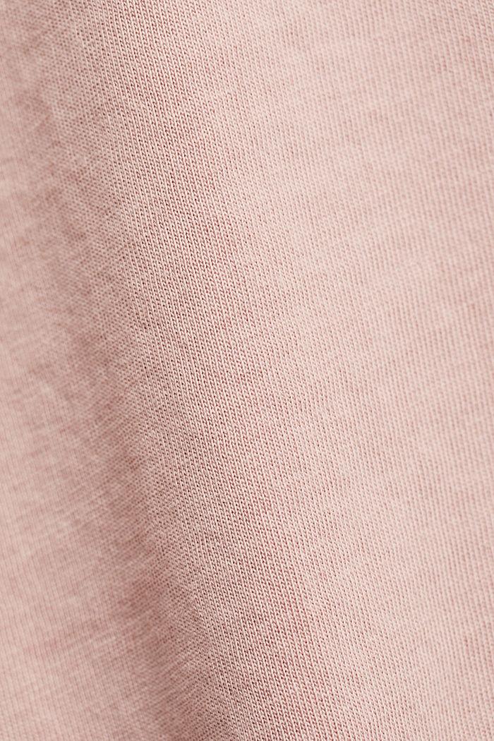 T-Shirt mit Volant-Ärmeln, Organic Cotton, NUDE, detail image number 4
