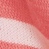 Recycelt: Shirt mit Streifen, Organic Cotton, CORAL, swatch