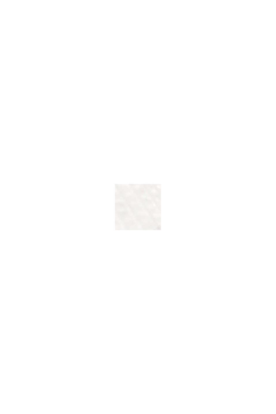 T-Shirt mit Ärmeln aus Häkelspitze, OFF WHITE, swatch
