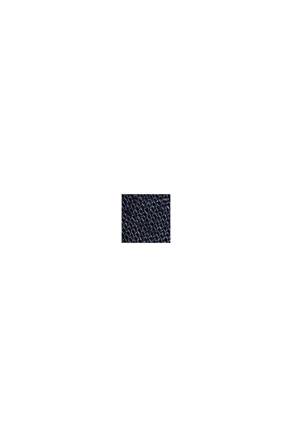 Linnenmix: luchtige chino, DARK BLUE, swatch