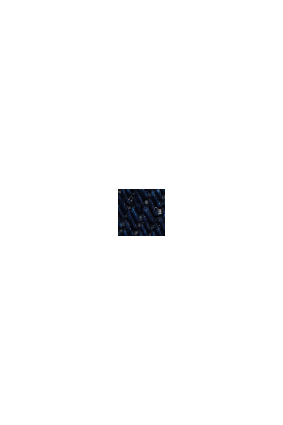 #ReimagineFlexibility: reflective stretch jeans, BLUE RINSE, swatch