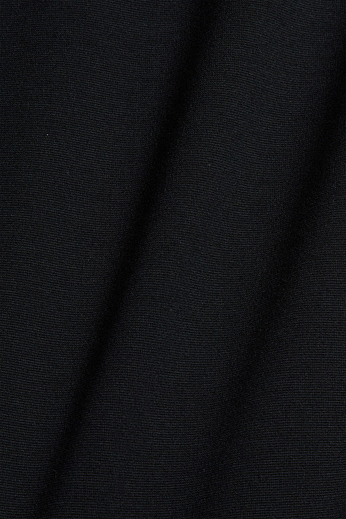 Chino tracksuit bottoms with LENZING™ ECOVERO™, BLACK, detail image number 4