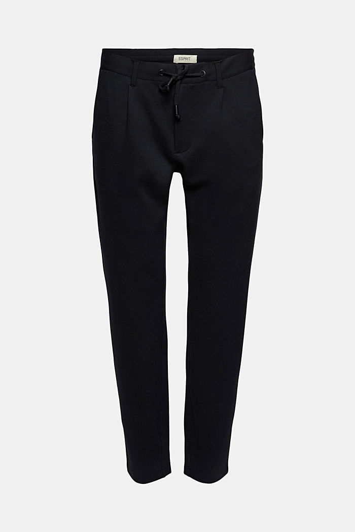 Chino tracksuit bottoms with LENZING™ ECOVERO™