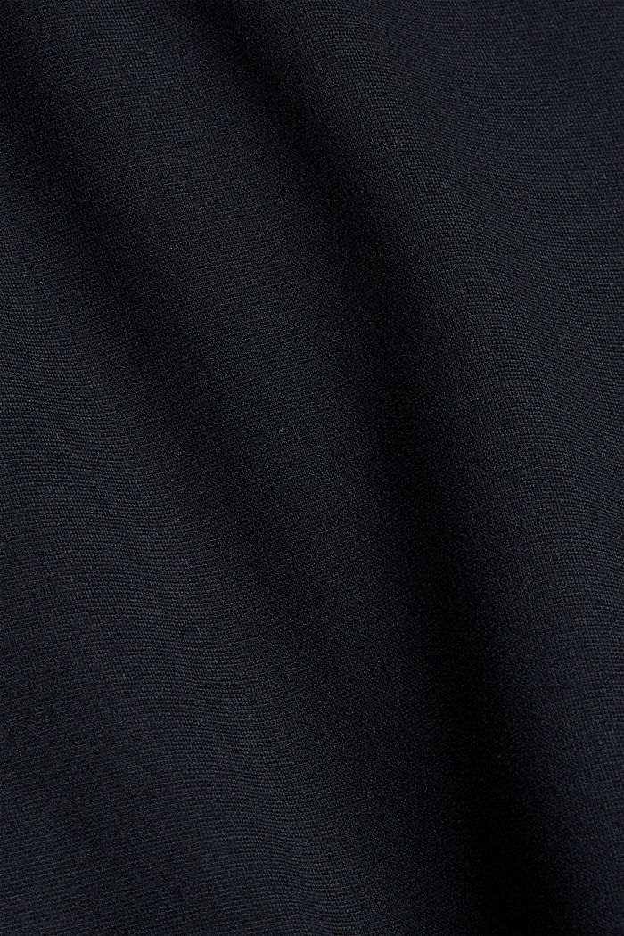 Cargo tracksuit bottoms with LENZING™ ECOVERO™, BLACK, detail image number 4