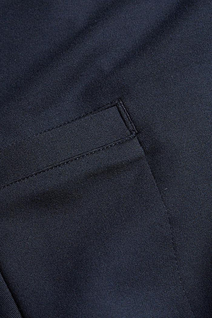 Pantalones cargo de estilo deportivo con LENZING™ ECOVERO™, NAVY, detail image number 4