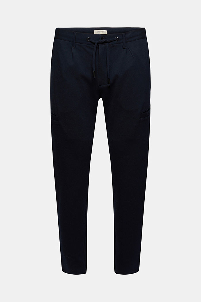 Cargo tracksuit bottoms with LENZING™ ECOVERO™