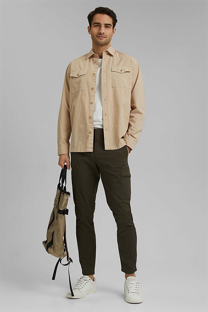 Pantalón cargo de algodón ecológico