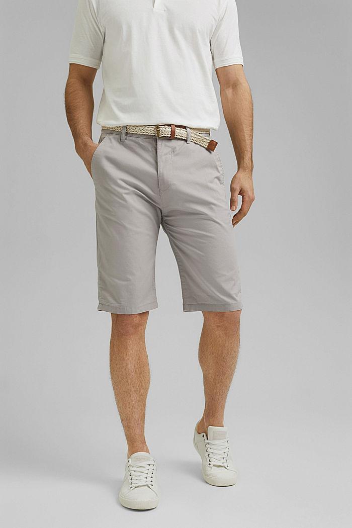Short à ceinture, coton biologique