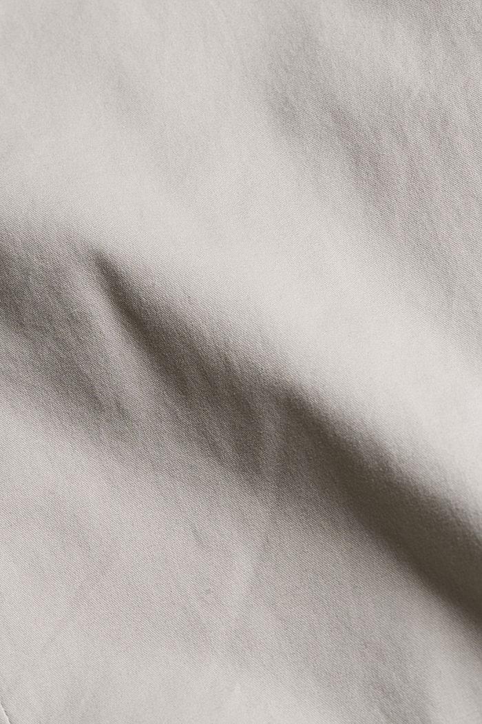 Shorts mit Gürtel, Organic Cotton, LIGHT GREY, detail image number 4