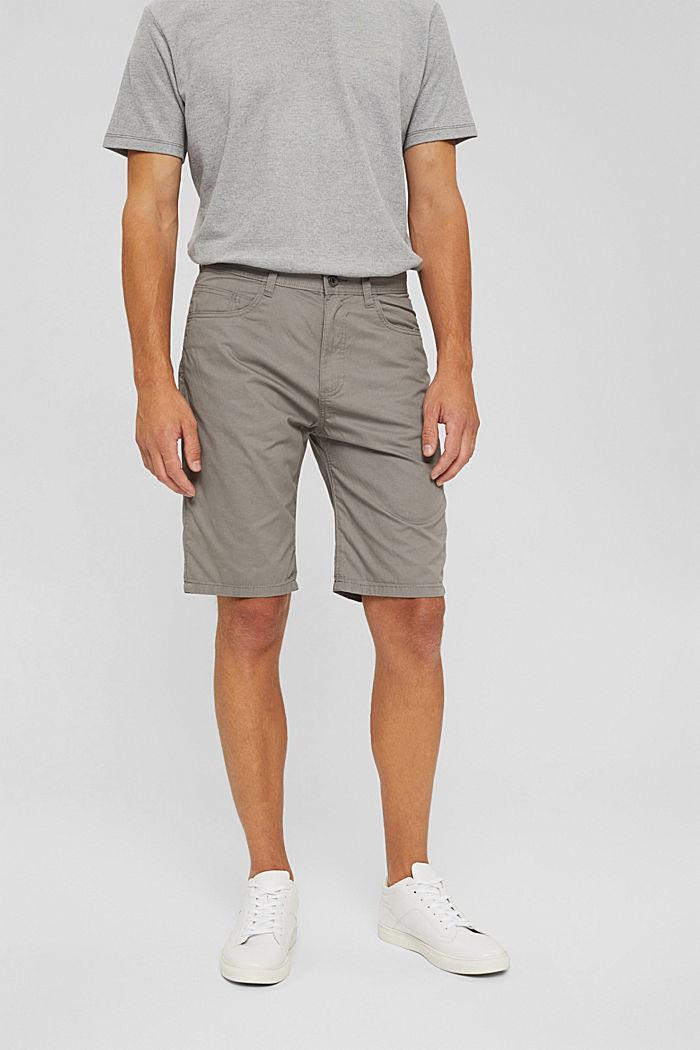 Short van 100% organic cotton, GREY, detail image number 0