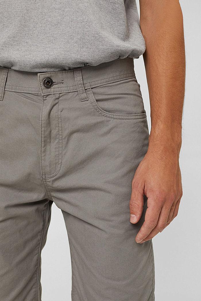 Short van 100% organic cotton, GREY, detail image number 2