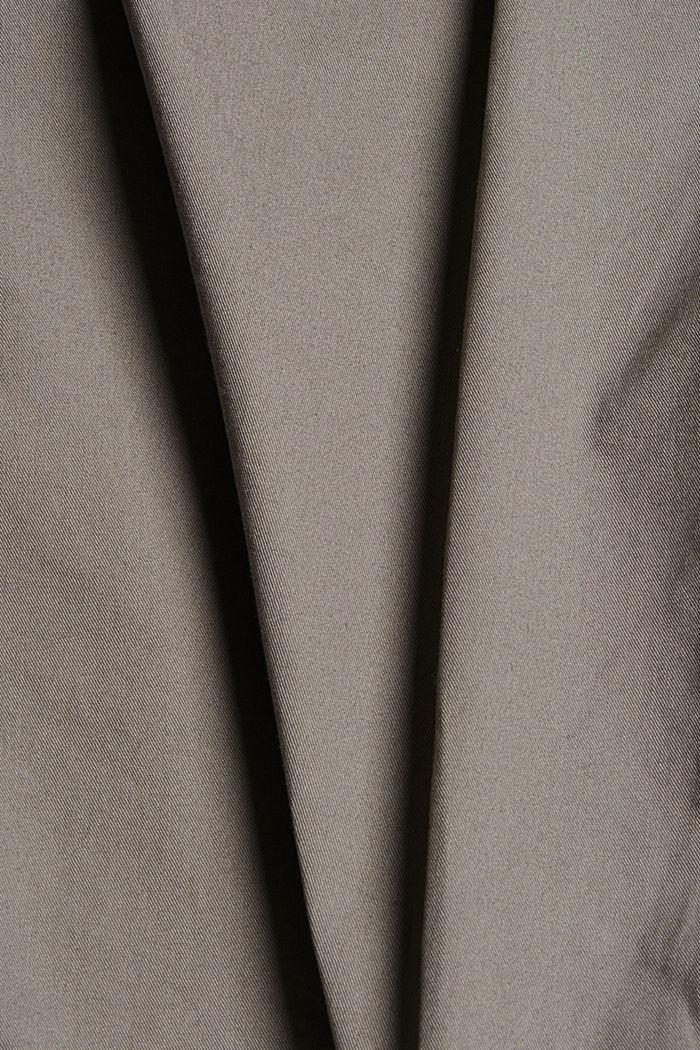 Short van 100% organic cotton, GREY, detail image number 4