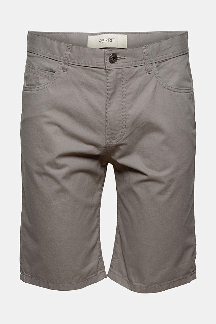Short van 100% organic cotton, GREY, detail image number 6