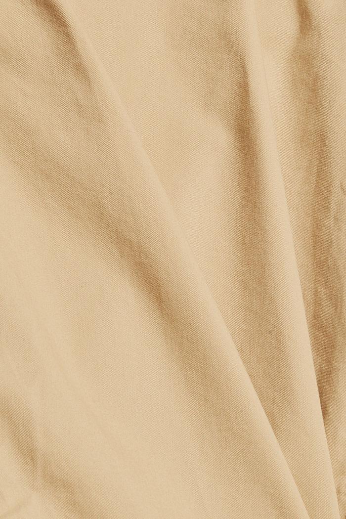Szorty, 100% bawełny organicznej, BEIGE, detail image number 4