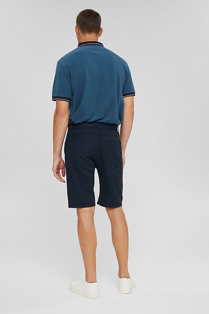 Shorts made of 100% cotton, DARK BLUE, detail image number 3