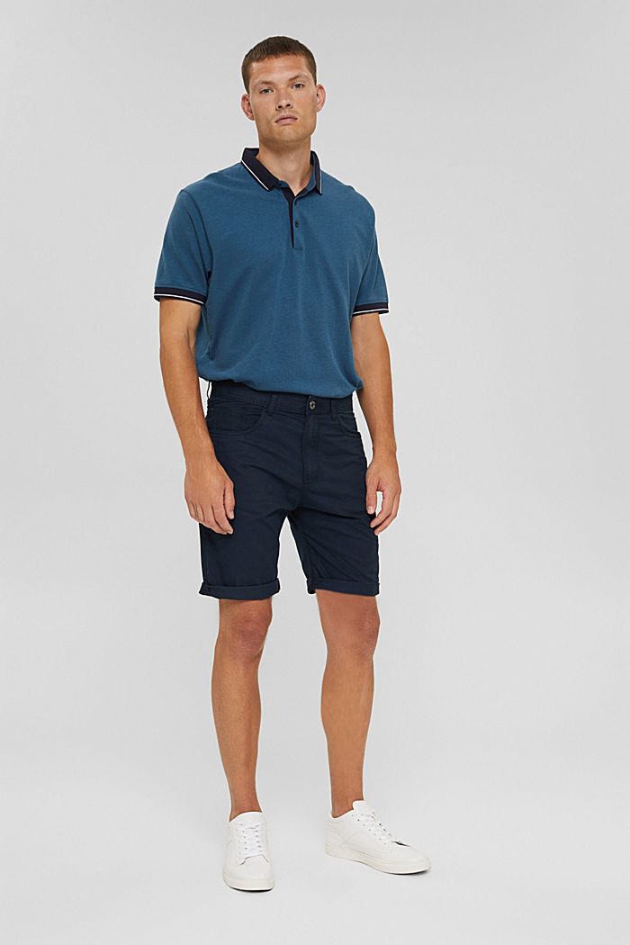 Shorts i 100% ekologisk bomull
