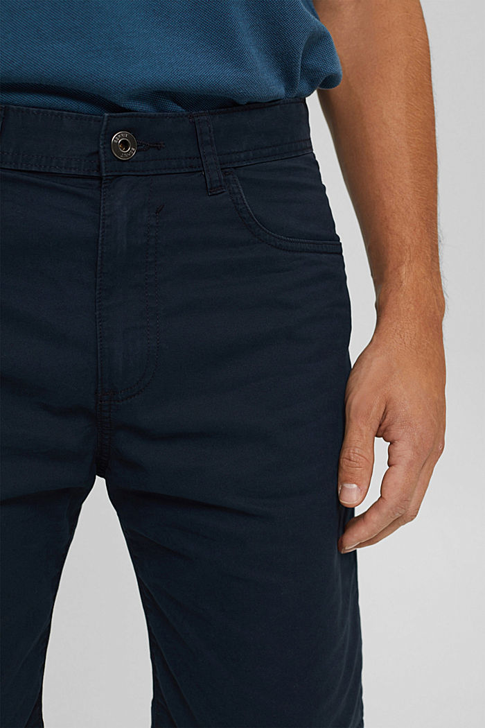 Shorts made of 100% cotton, DARK BLUE, detail image number 2