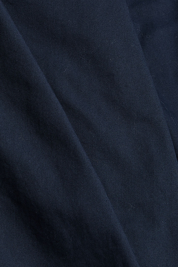 Shorts made of 100% cotton, DARK BLUE, detail image number 4