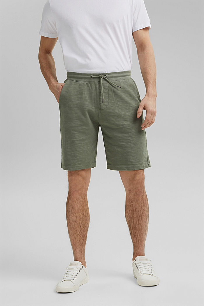 Jogger-Shorts aus 100% Organic Cotton
