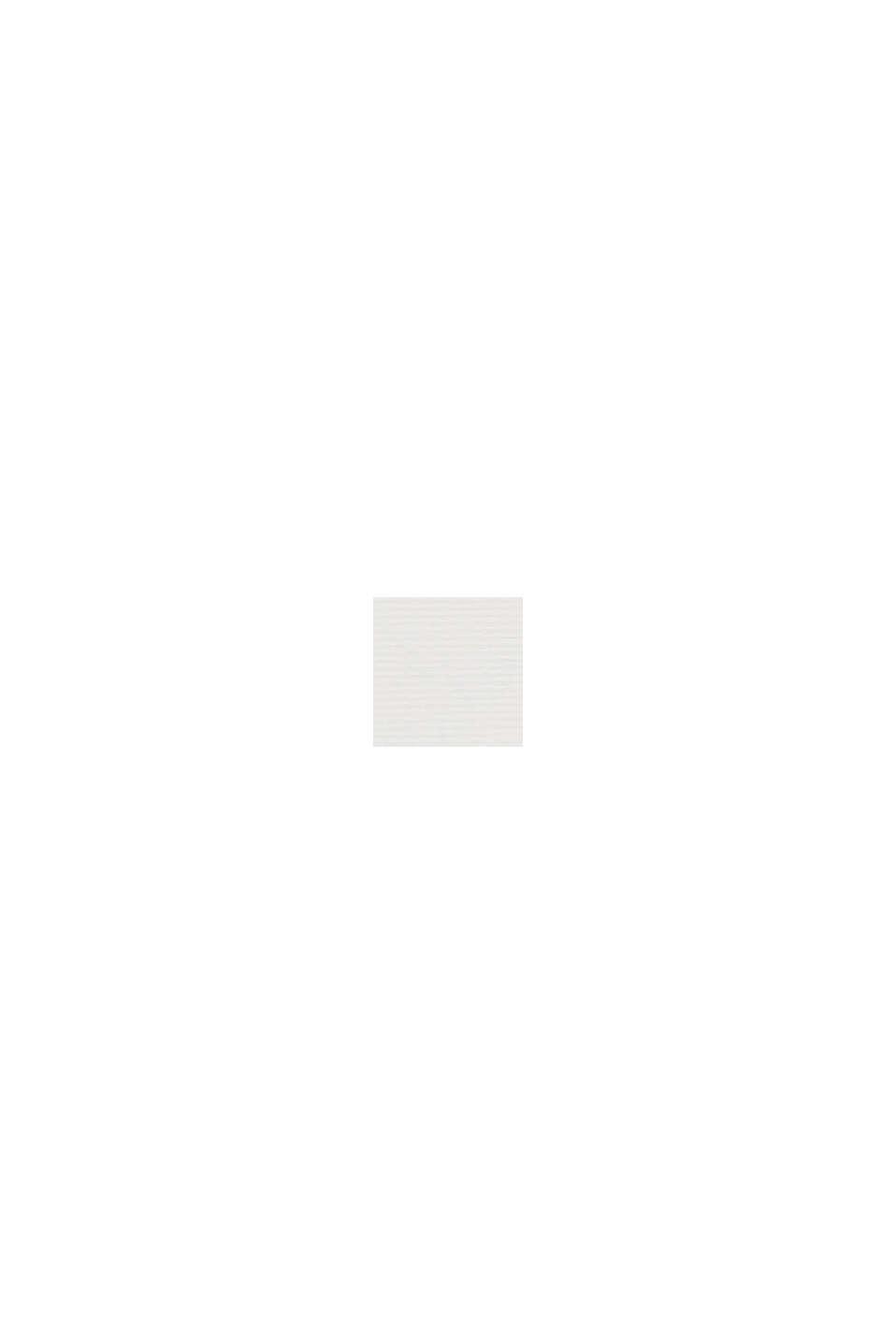Gestructureerd overhemd van 100% biologisch katoen, WHITE, swatch