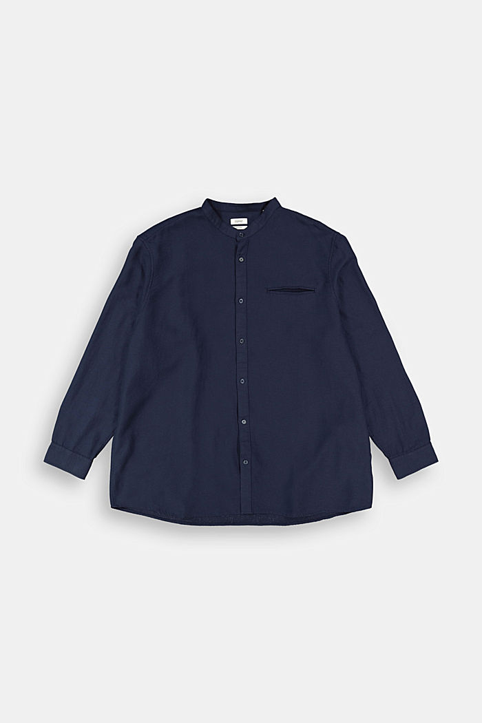 Textured shirt made of 100% organic