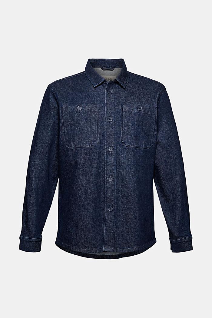 Shirt made of robust cotton denim