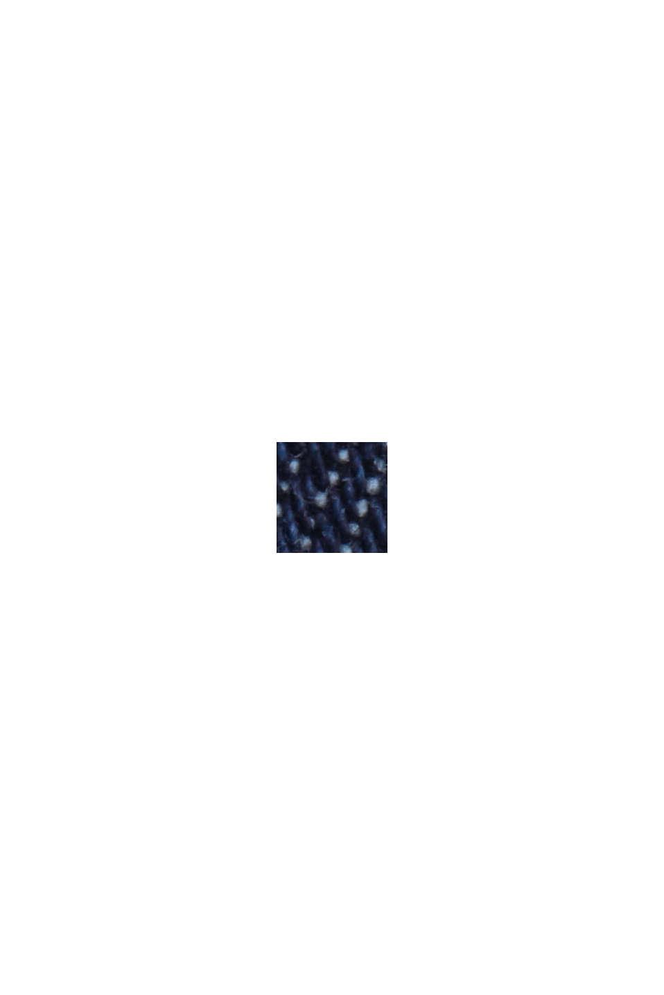 Jeans-Hemd aus robustem Baumwoll-Denim, BLUE DARK WASHED, swatch