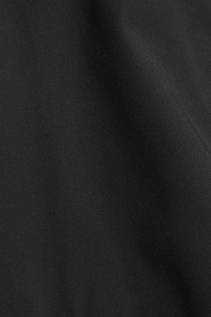 Gerecycled: jas in bomberstijl, BLACK, detail image number 5