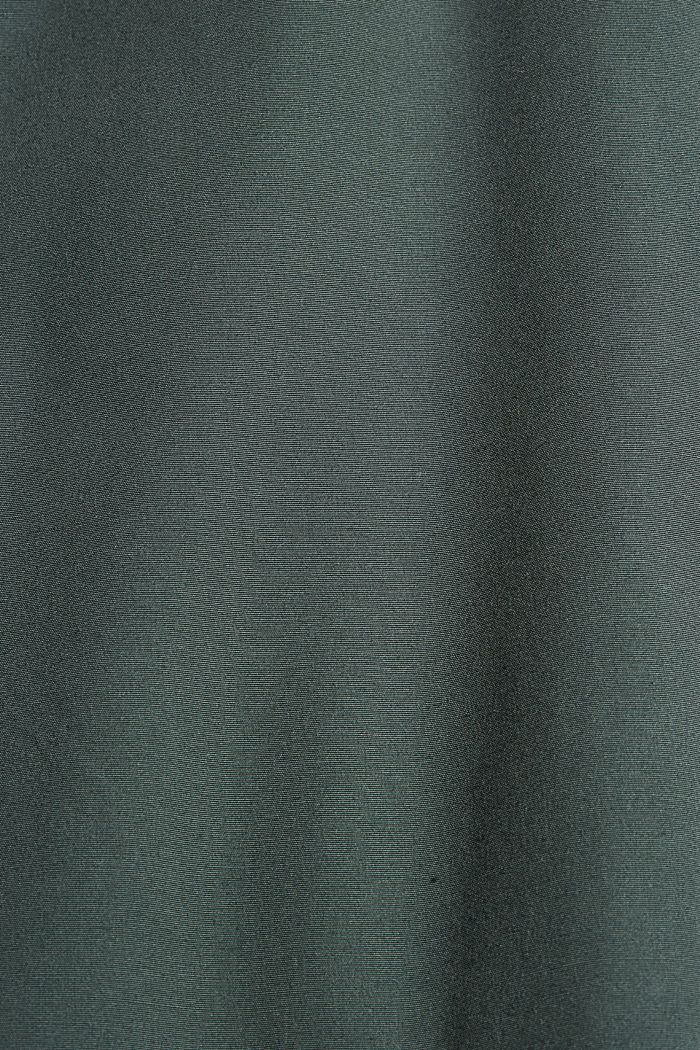 In materiale riciclato: giacca in stile bomber, DARK GREEN, detail image number 5