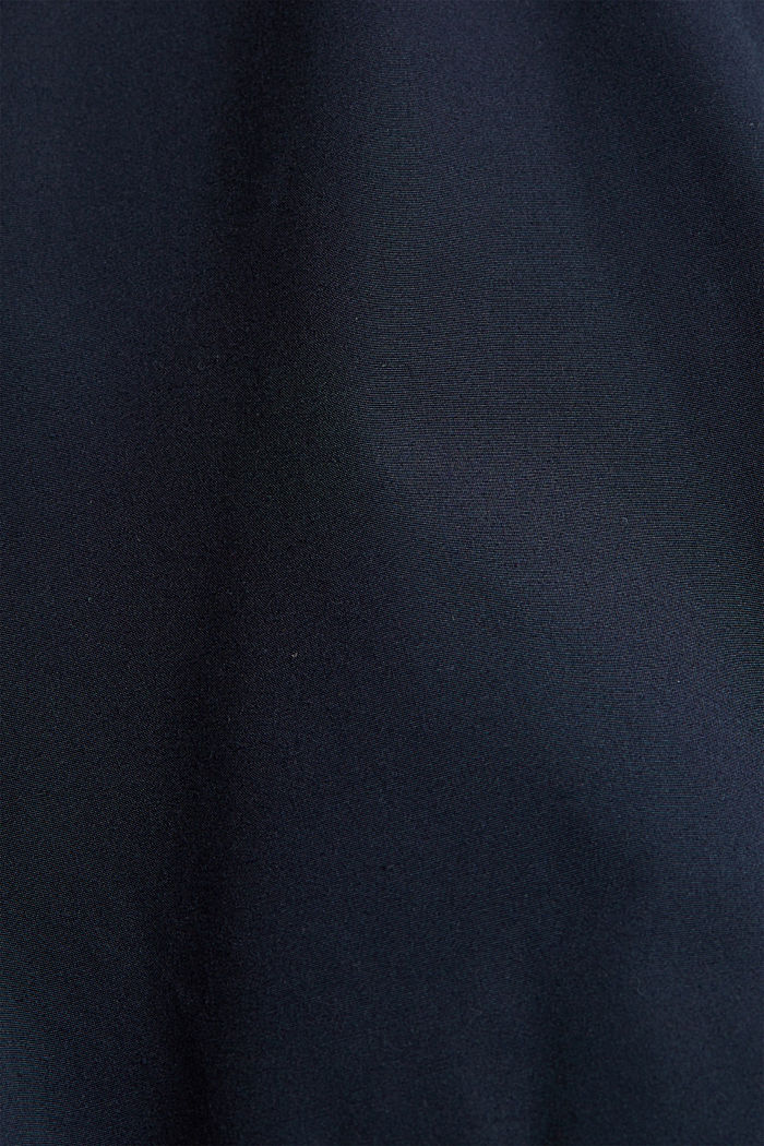 Recycled: bomber jacket, NAVY, detail image number 5